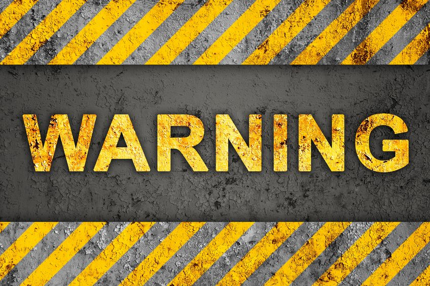 chargebacks, high risk, warning, refund